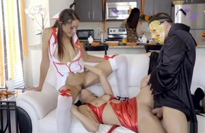 Costume Soiree Internal ejaculation..