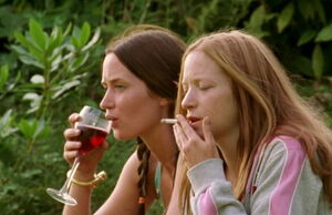 Emily Blunt and Nathalie Press -..