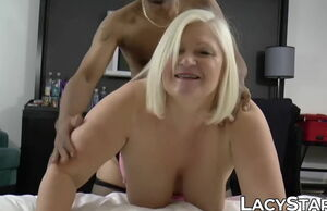 Chesty UK GILF punctured on bbc and..