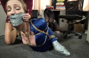 tied and ball-gagged by JJ
