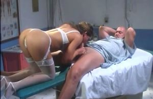 Insatiable nurse cant stand against..