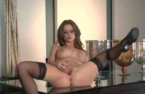 Fancy scrawny Emily Addison in..