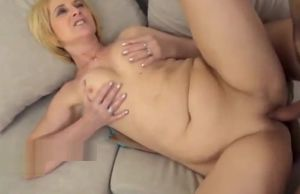 scorching platinum-blonde mommy tear..