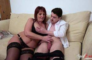 AgedLovE Brit Mature Loves Hard-core..