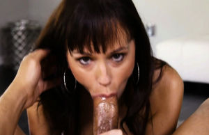 Alana Cruise filthy deep throat