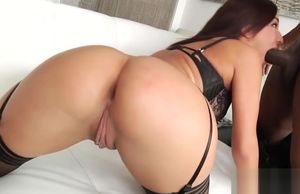 Super-naughty bi-racial assfuck with..