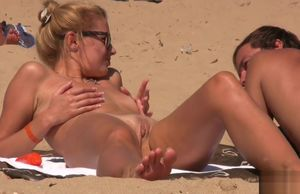 Hidden cam Beach Close Up Bare..