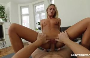Epic blond  princess romped