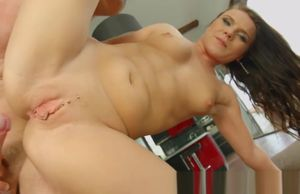 Allinternal Wendy Moon gapes her..