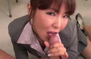 Ultra-kinky Asian Instructor Gives..