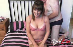 AgedLove gang-bang with insane mature..