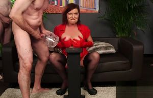 Mummy Wendy Taylor Jizz Bucket contest