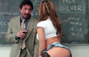 Big-titted Maiden Plows Tutor and Has..